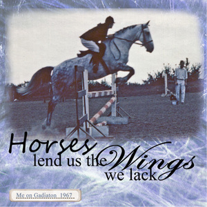 Horses Lend Us Wings - Quote Challenge 051607