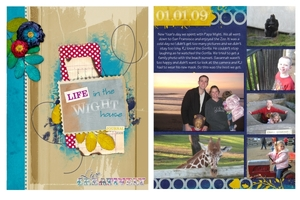 Life in the Wight House-Blog Book Sample