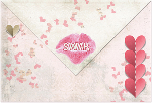 SWAK (sealed with a kiss) envelope
