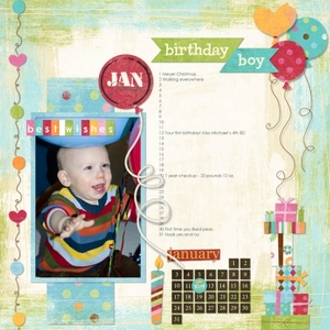 William's Milestones: January 2010