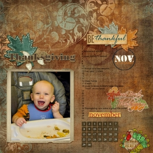 William's Milestones: November