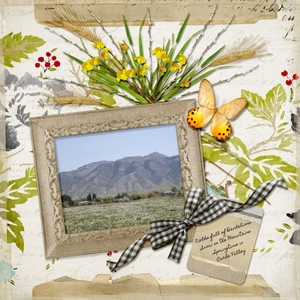 TUESDAY FREEBIE CHALLENGE 3/19 - Springtime in Cache Valley