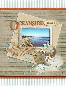Tuesday Freebie Challenge 9/18 - OCEANSIDE BEACH