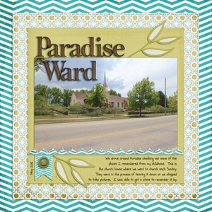 Tuesday Freebie Challenge 9/25 - Paradise Ward