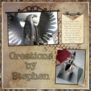 CREATIONS BY STEPHEN 1