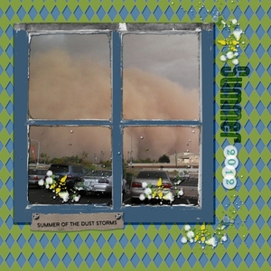 SUMMER OF THE DUST STORMS