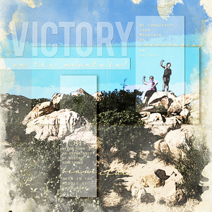 Victory! (Journaling on Photos)