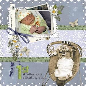 1st Stroller Ride & Vibrating Chair