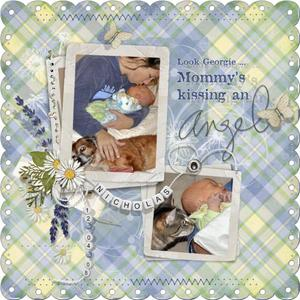 Mommy's Kissing an Angel