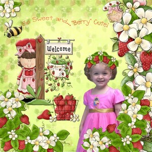 """So Sweet and """"Berry"""" Cute"""