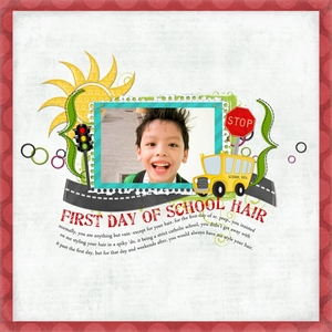 First Day Of School Hair