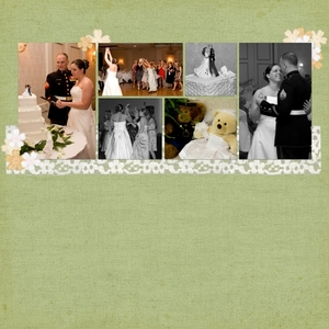 J's Wedding (right page)