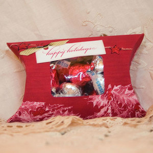 Christmas Pillow Gif Box