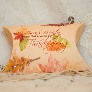 Fall Pillow Gift Box