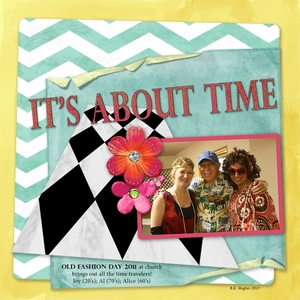 Its About Time - 70s inspiration chat