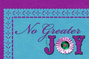 Creative Alpha Class - No Greater Joy