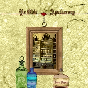 Thursday Challenge 10-29-09 Ye Old Apothecary