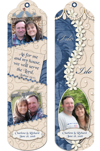 Wedding Favor Bookmark new try