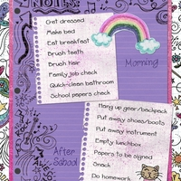 Morning & After School Routine for B