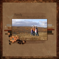 Tuesday Freebie Challenge 11/1/11 -- Family