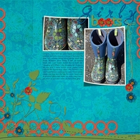 Saturday Color Challenge - 7-28-12 -- Girly Boots