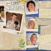 Your Life is a Miracle - 2 pg SPREAD (March Mid-Month Contes