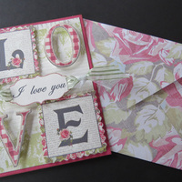 Valentine Card from Blog Template