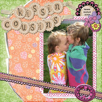 "July Swap for Chanell ""Kissin' Cousins"""