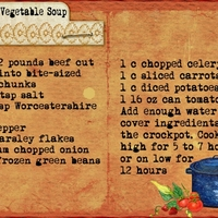 Crockpot Hearty Vegetable Soup