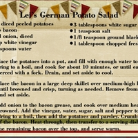 Lei's German Potato Salad