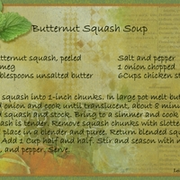 2014 01 Butternut Soup Recipe
