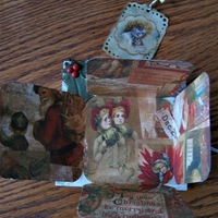 Vintage Christmas Mini Album Page post 4
