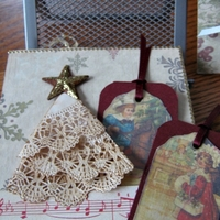 Vintage Christmas Mini Album Page post 2