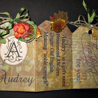 Thanksgiving Place Cards - front side