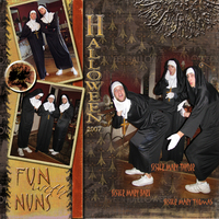 Halloween Fun with Nuns