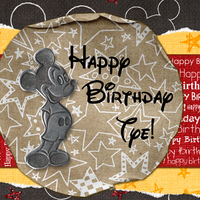 Disney Birthday card