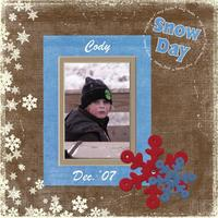Rosy Cheek Cody