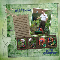Gardening - Sat Colour Challenge 24th Jan