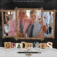 Ad Inspiration - Happy Graduates