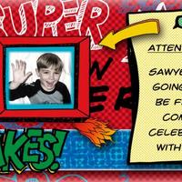 Sawyer's Birthday Invitation