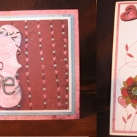 Hybrid Valentine Cards for Brenda