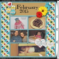 Project Life February left side