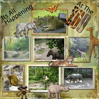 It's All Happening At The Zoo -- Newsletter 8-12-14 Challenge