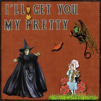 Thursday 10-11-12 Challenge -- Wicked Witch