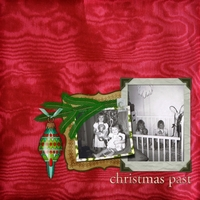 Thursday 1-12-12 Challenge -- Christmas Past