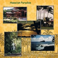 Tuesday 1-25-11 Freebie Challenge -- Hawaiian Paradise