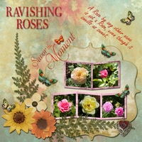 Scraplift Syndee Nuckles -- Ravishing Roses