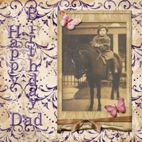 Monday 7-16-12 Challenge -- Happy Birthday Dad