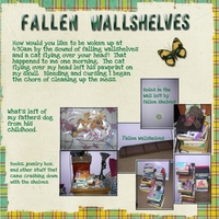 Tuesday 4-10-12 Freebie Challenge -- Fallen Wallshelves
