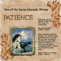 Monday 1-23-12 Challenge -- Patience